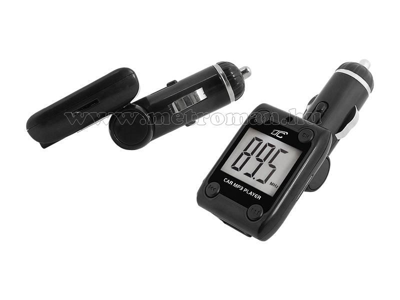 USB/SD MP3 FM Transzmitter LTC K18