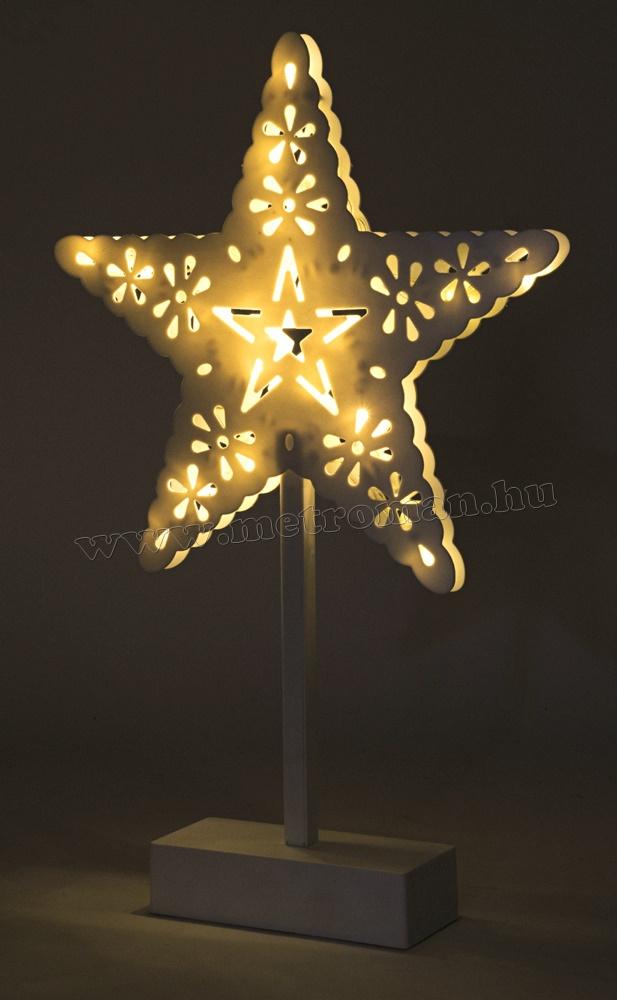 LED-es csillag asztaldísz KAD 20 STAR