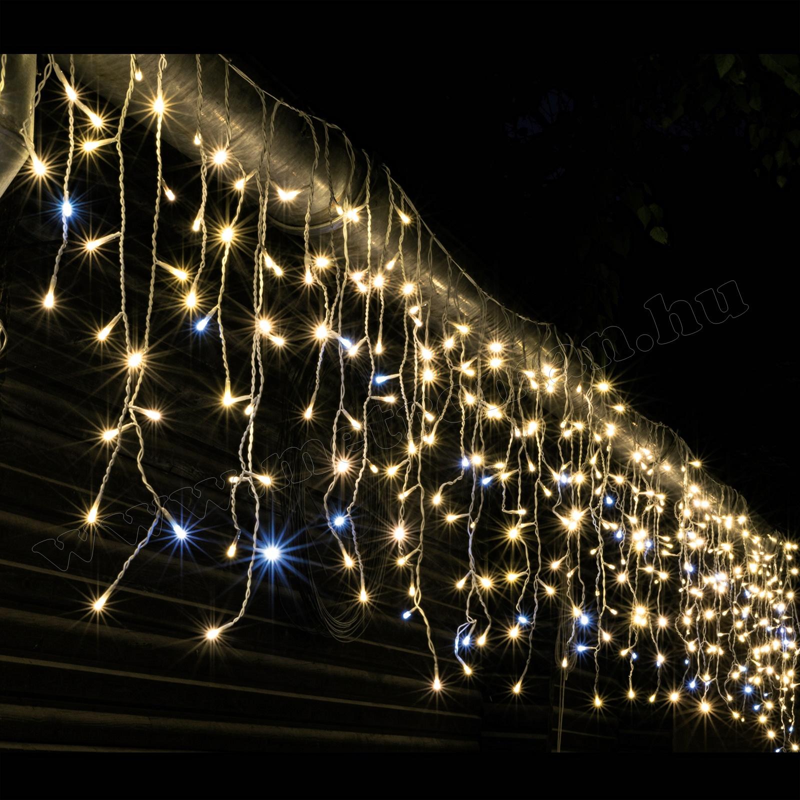 LED-es jégcsap fényfüggöny KAF 300L 5M