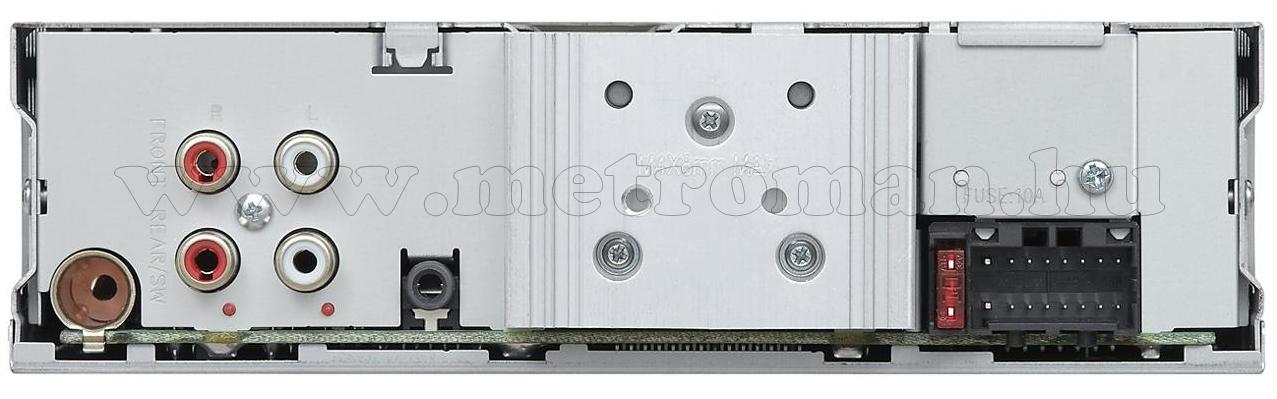 Bluetooth/CD/USB/MP3 autórádió,  JVC KD-R891BT