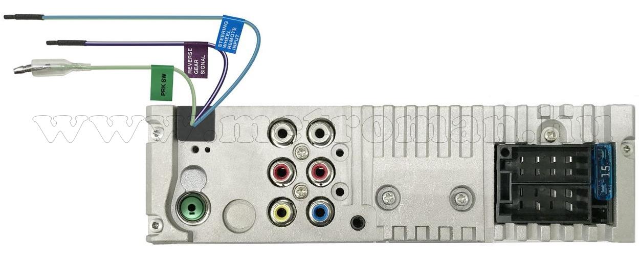 MP3/AVI USB Bluetooth multimédiás autórádió 3 col-os QVGA monitorral JVC KD-X560BT