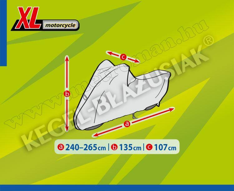 Motorkerékpár takaró ponyva XL-es méretű MOBIL GARAGE Kegel KEG4176