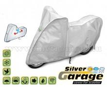Motorkerékpár takaró ponyva, L-es méretű, SILVER GARAGE KEGEL KEG4217