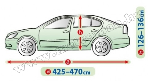 Autó takaró ponyva, Perfect Garage Sedan L Kegel