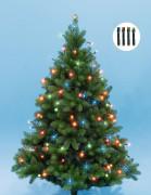 Karácsonyi LED égősor fényfüzér színes KII100/M