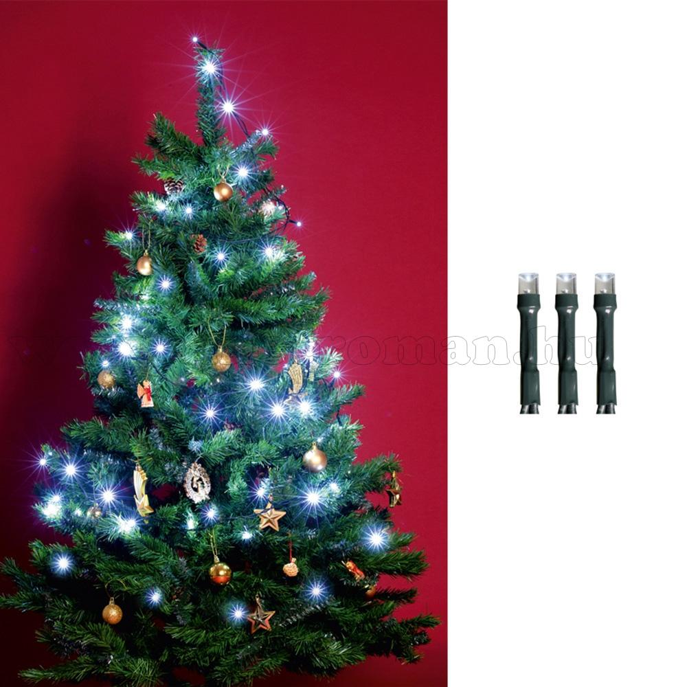 Karácsonyi LED égősor, fényfüzér, hideg fehér KII100/WH