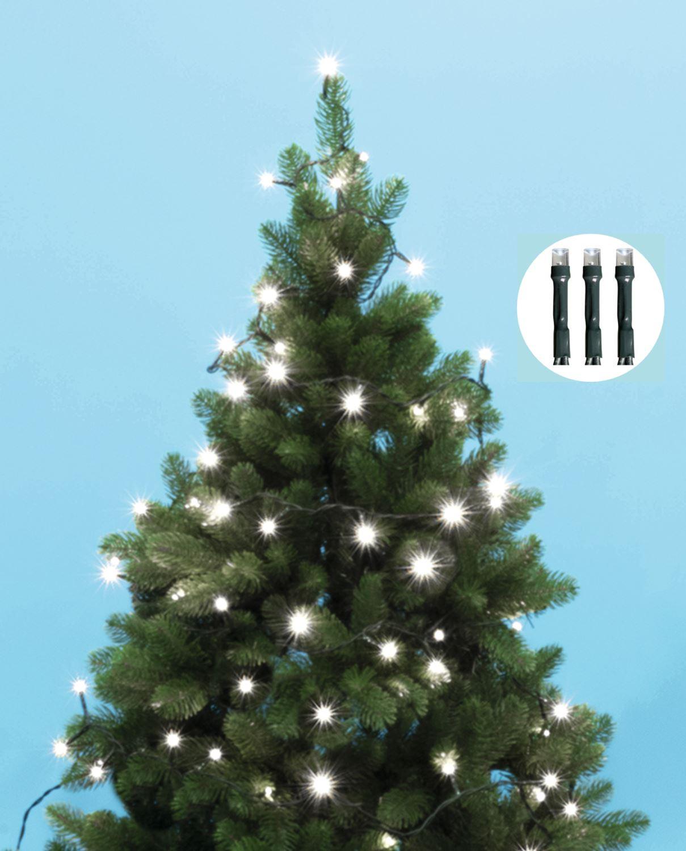 Karácsonyi LED égősor fényfüzér, hideg fehér KII200/WH