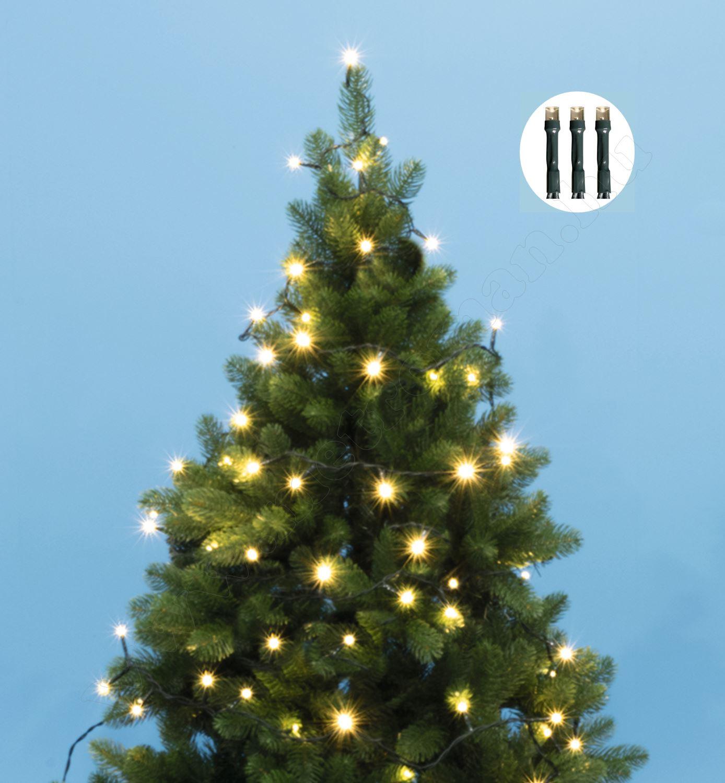 Karácsonyi LED égősor fényfüzér meleg fehér KII 200/WW