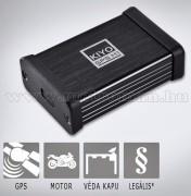 KIYO-GPS-M1 Motoros traffipax jelző