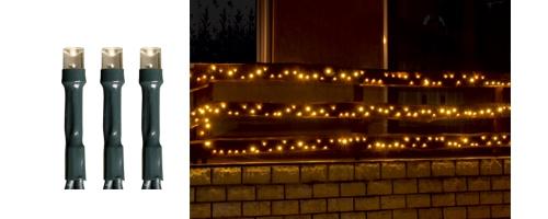 Karácsonyi kültéri LED égősor, Fényfüzér, KKL 1000/WW Meleg fehér