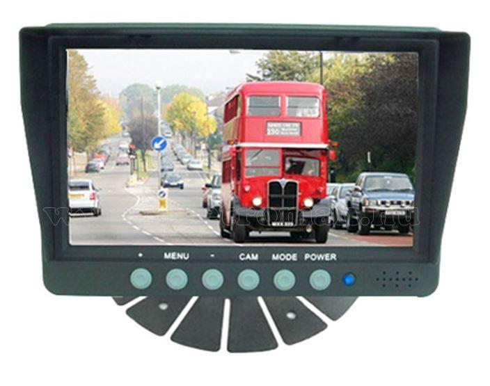 Kamion, teherautó, targonca, munkagép ipari tolatókamera szett RIS RM-701S4C-SV-CW142635CAI