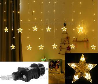 Karácsonyi LED fényfüzér csillag M1320LED