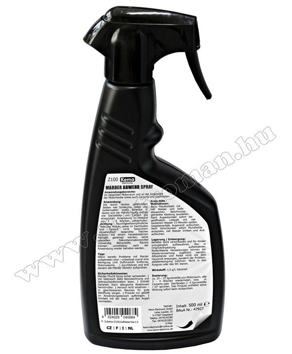 Nyestriasztó spray Kemo Z100
