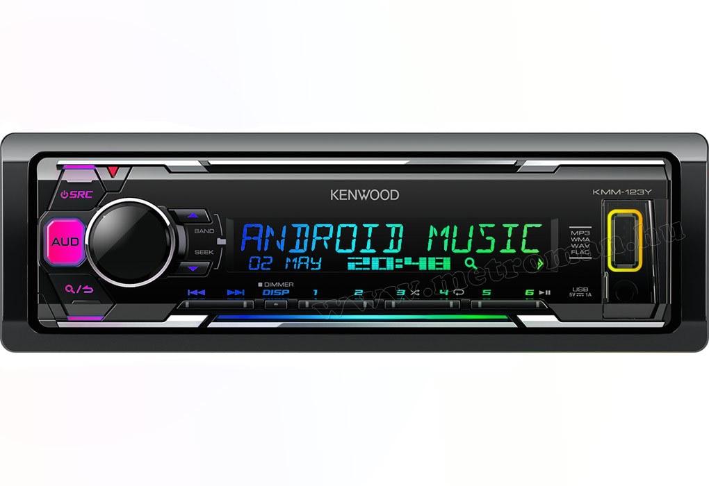 MP3 USB autórádió Kenwood KMM-123Y
