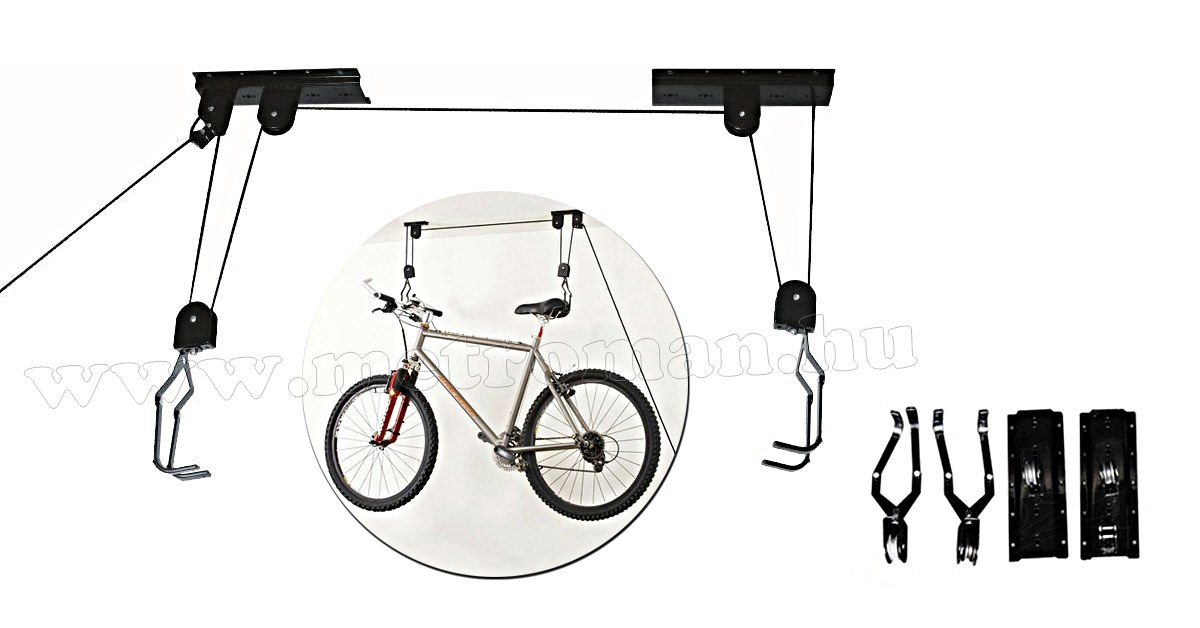 Kerékpárlift, mennyezeti kerékpár tartó M0132