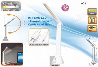 Ledes asztali lámpa LA-3