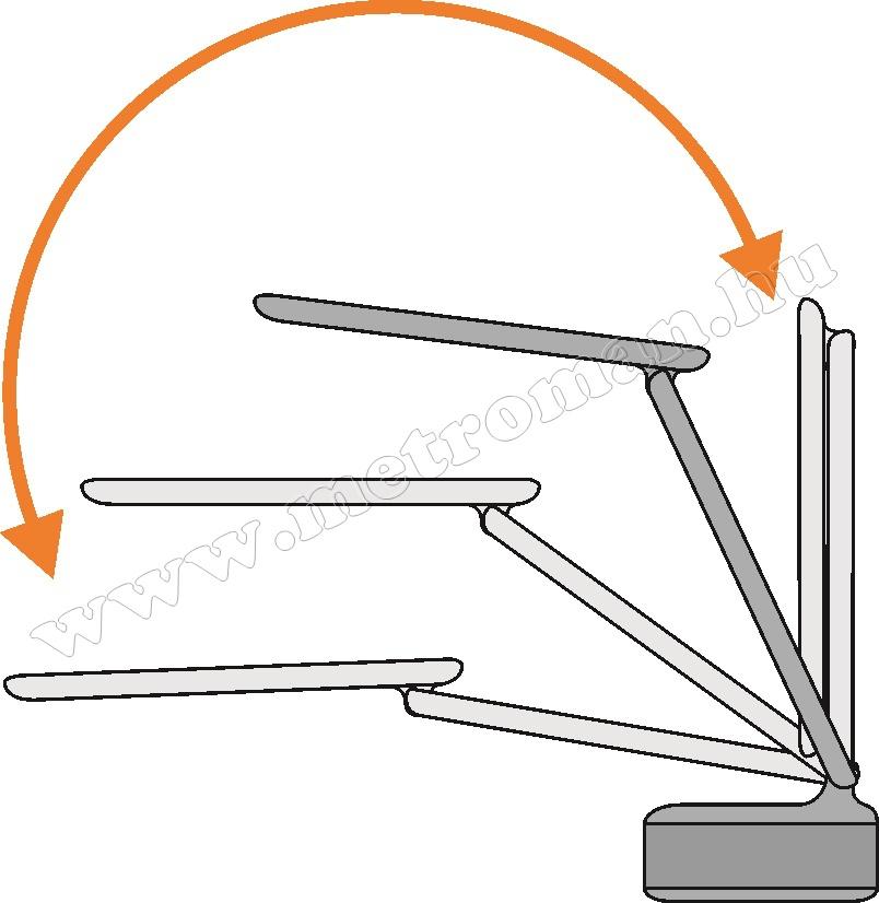 Ledes asztali lámpa LA-7BT