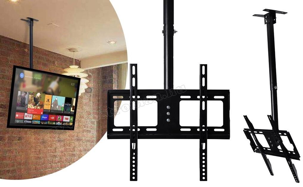 """Mennyezeti LCD LED TV tartó konzol 26-55"""" M0895-1"""