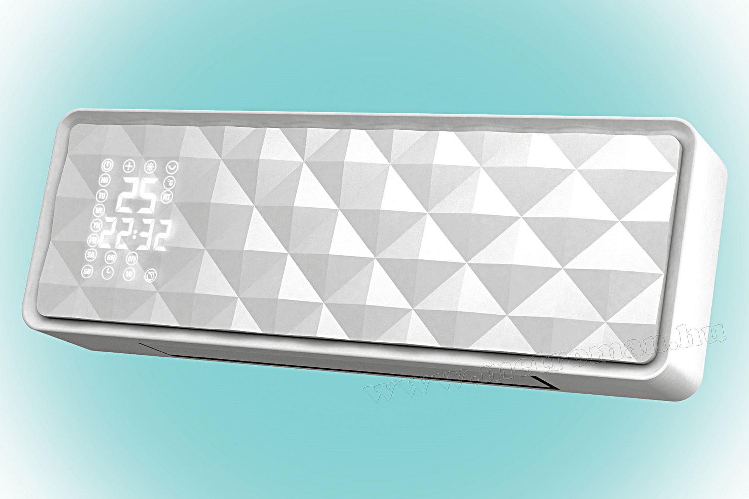 Elektromos ventilátoros programozható fali fűtőtest FKF 54201
