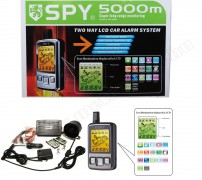 LCD távirányítós autóriasztó SPY FM700