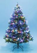 Karácsonyi LED-es cluster égősor, fényfüzér, színes LCS 380/M