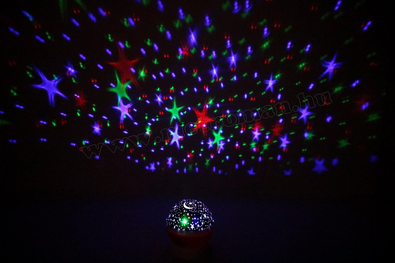 Csillagos égbolt RGB LED projektor M914PK
