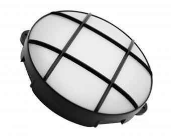 LED-es Mennyezeti Fali lámpa levehető védőráccsal RCC15LEDBK