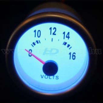 Autós sportműszer, feszültség mérő, LED7701