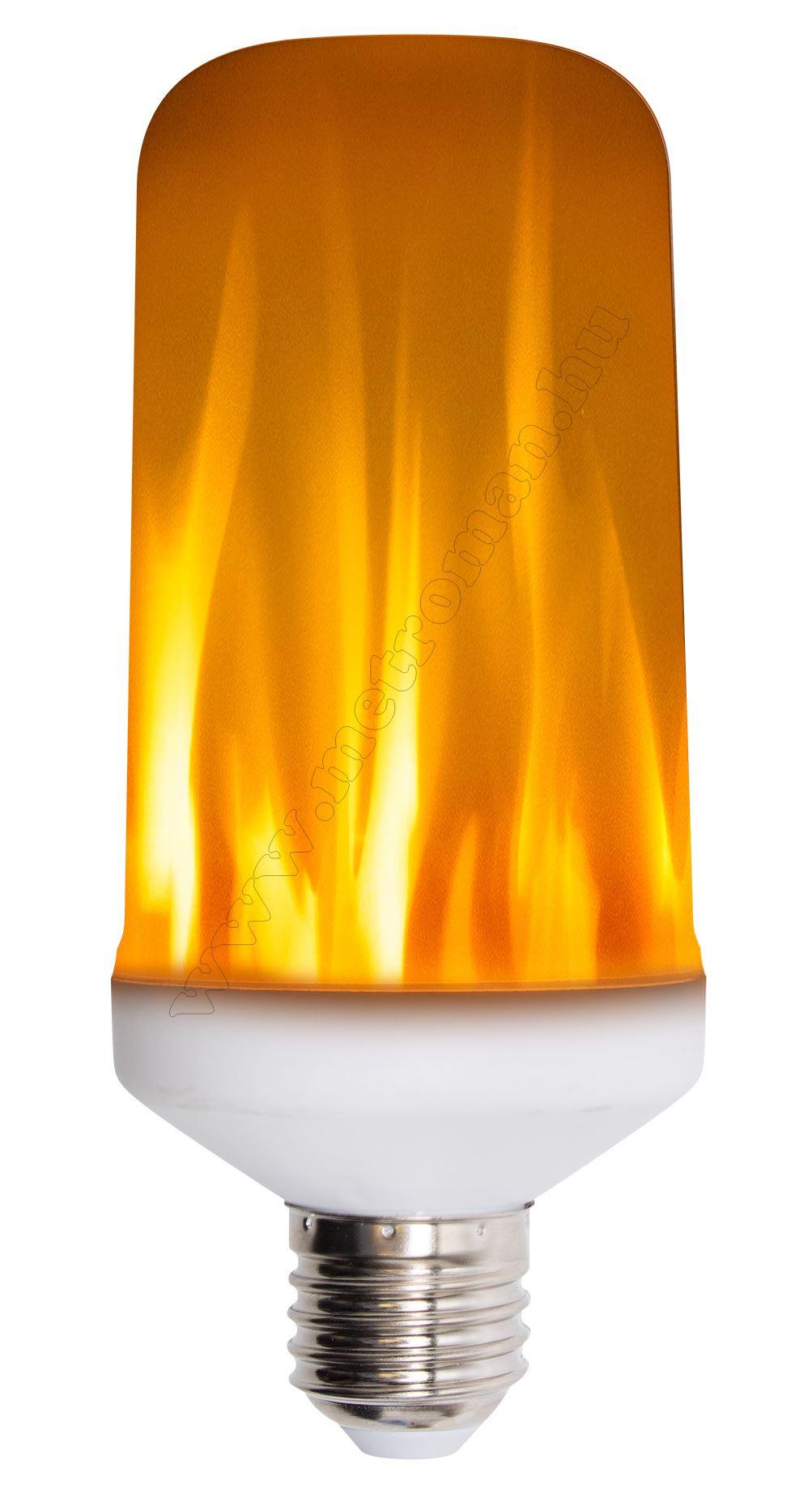 Fáklyaláng hangulat világítás LED izzó LF5/27