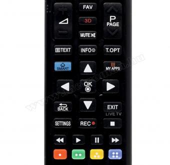 Után gyártott TV távirányító, LG URC 1