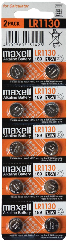 Alkáli gombelem MAXELL LR1130