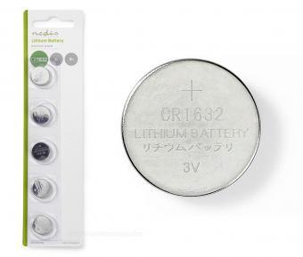 Lítium gombelem 3 V CR1632