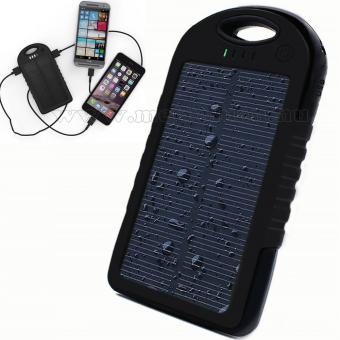 Napelemes külső akkumulátor és telefon töltő M0657