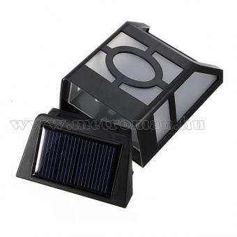 Napelemes kültéri LED lámpa, fekete M0397
