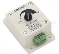 LED fényerő szabályzó 12-24V 8 A M0934