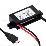 Beépíthető 12 V micro USB töltő M1590