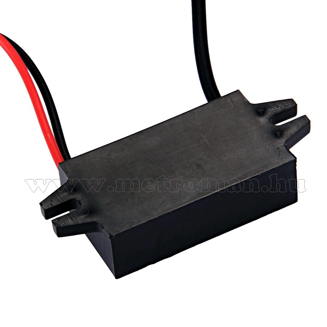 Beépíthető 12 V mini USB töltő M1591