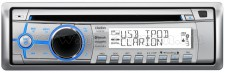 Hajó MP3/CD/WMA/Bluetooth rádió Clarion M303
