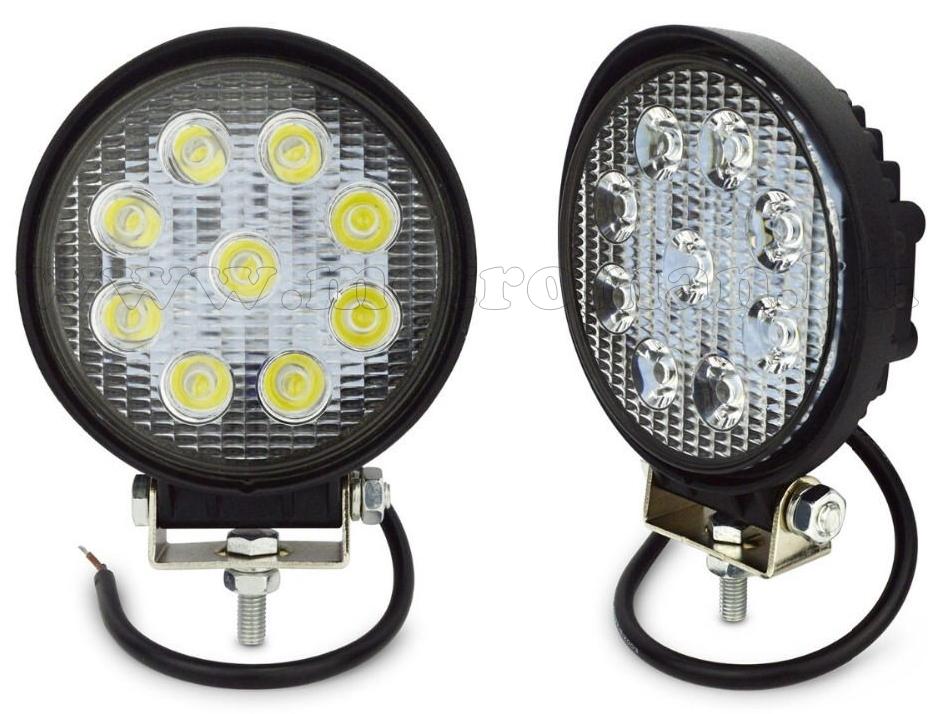 Autó LED fényszóró, LED munkalámpa 22 W M5027B