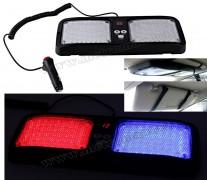 Autós LED villogó, Megkülönböztető jelzés Kék-Piros M5241