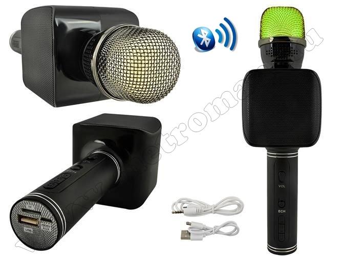 Vezeték nélküli Bluetooth karaoke hangszóró és mikrofon M5864