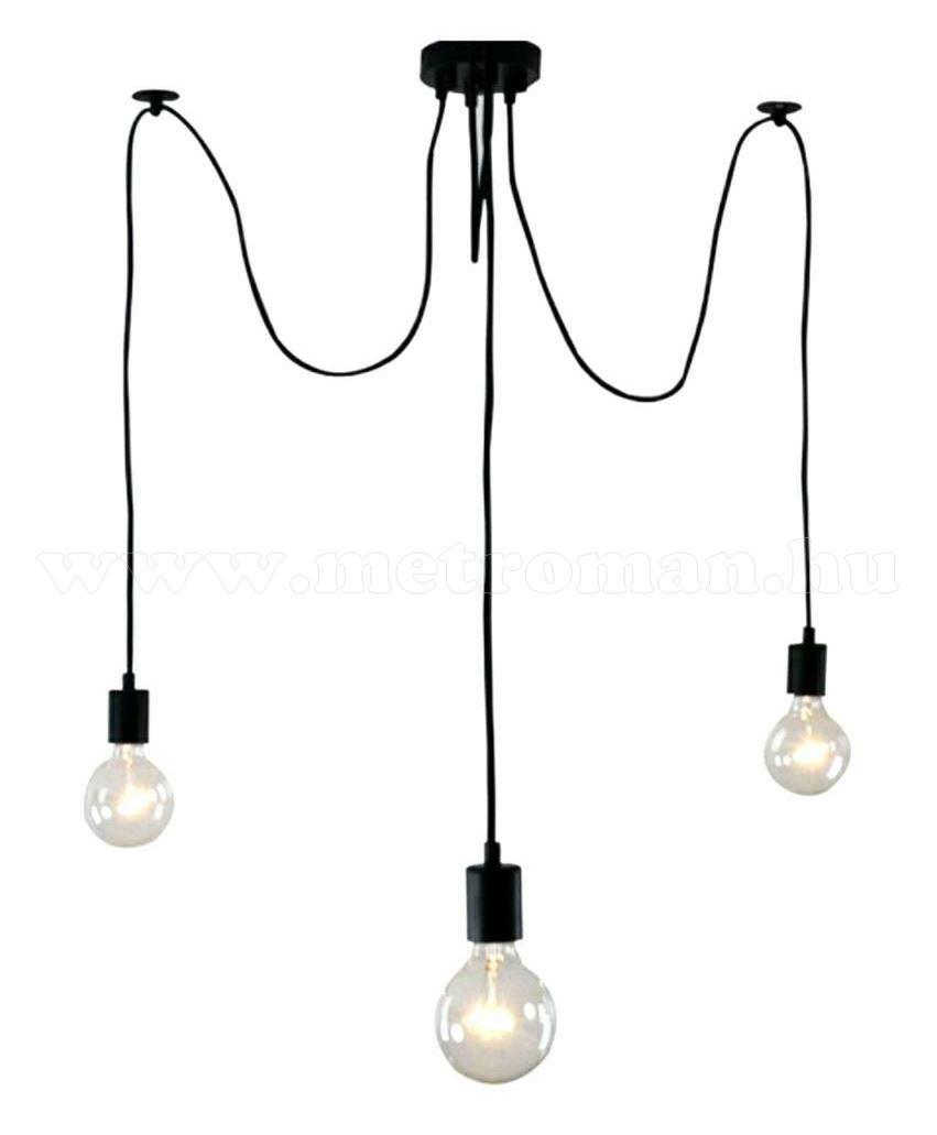 Mennyezeti függeszték pók lámpa 3xE27 MD74C
