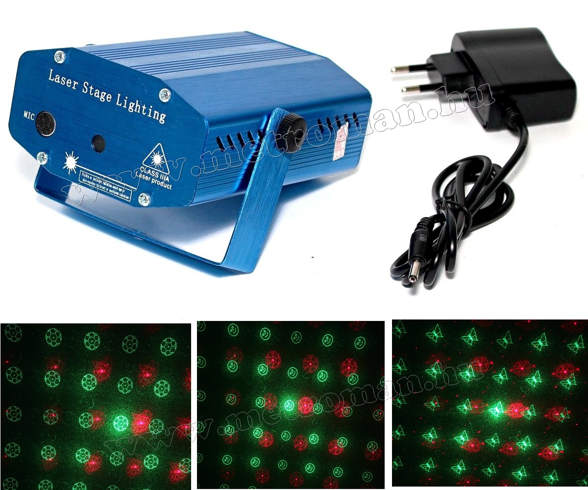 Diszkó fény, Lézer fényeffekt, Mlogic DL-017-MMA01