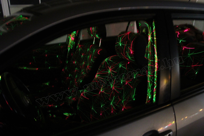 Autós Diszkó fény, Lézer fényeffekt, Mlogic MDL-1009