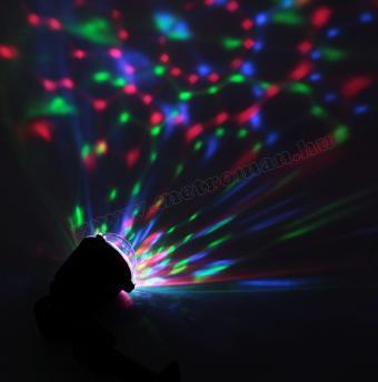 Színes kültéri RGB LED diszkógömb, Party LED projektor  MDL IP2