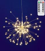 Micro LED-es tüzijáték dekoráció MFW 120/WW
