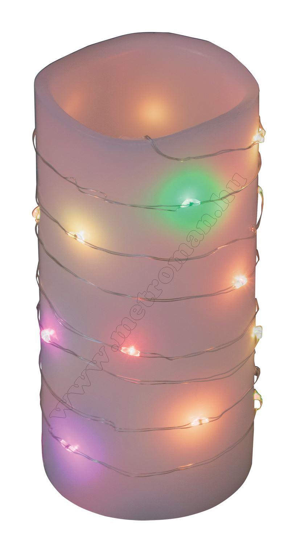 Micro LED-es elemes fényfüzér színváltó MLF 20/M