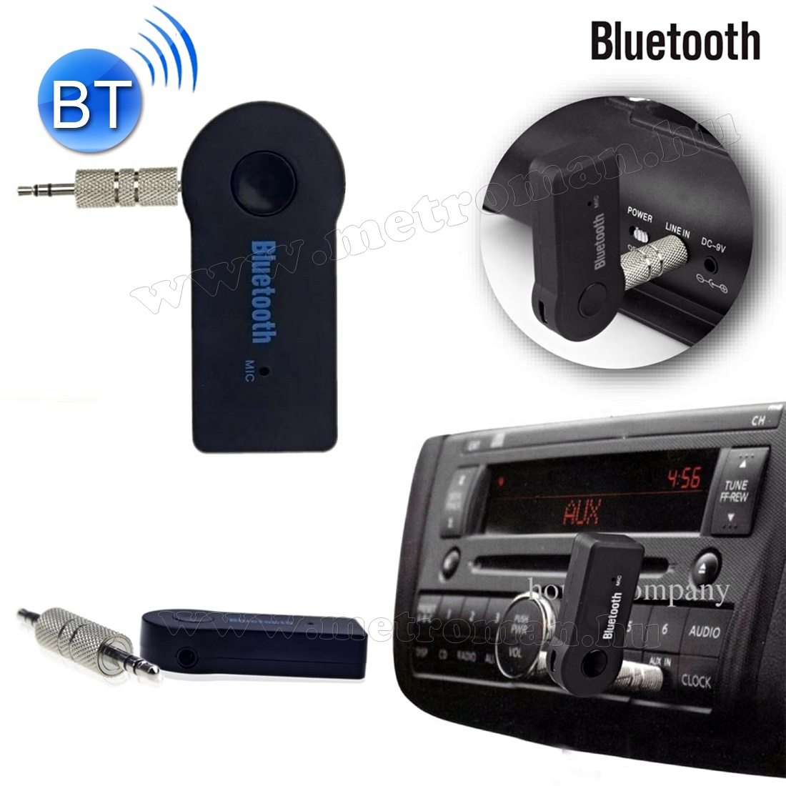 Jack autórádió Bluetooth adapter Mlogic BT310