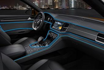 Autós 12V LED dekor szalag kék MM-7962BL