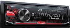 MP3/WMA/WAV/FLAC Bluetooth autórádió JVC KD-X342BT
